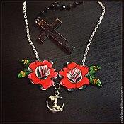 Украшения ручной работы. Ярмарка Мастеров - ручная работа Red roses. Handmade.
