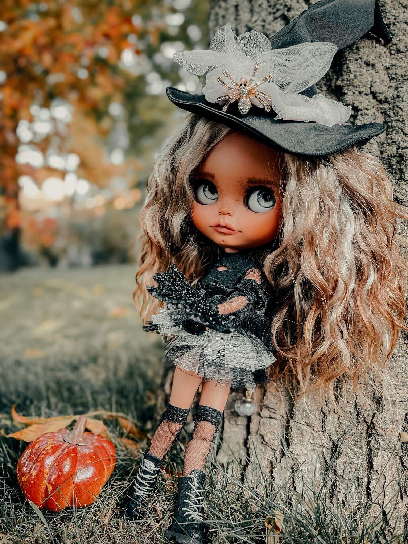 Кукла Блайз  Blythe в наличии Ведьмочка, Кукла Кастом, Санкт-Петербург,  Фото №1