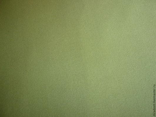 Шитье ручной работы. Ярмарка Мастеров - ручная работа. Купить Пальтовая ткань нежно-зеленого цвета. Handmade. Салатовый, шитье