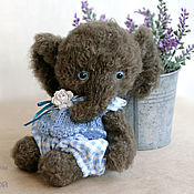 Куклы и игрушки handmade. Livemaster - original item The Elephant Teddy