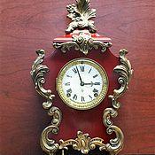 -15%  Старинные каминные часы Ansonia,1882г