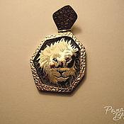 Украшения ручной работы. Ярмарка Мастеров - ручная работа ``Лев`` знак зодиака. Handmade.