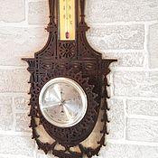 Для дома и интерьера ручной работы. Ярмарка Мастеров - ручная работа Шератон барометр и термометр. Handmade.