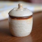 """Посуда ручной работы. Ярмарка Мастеров - ручная работа Банка """"песочная"""". Handmade."""
