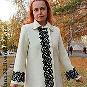 "Одежда handmade. Livemaster - original item Knitted coat ""Most beautiful"". Handmade."