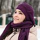 Шапка и шарф, шапка шарф, шарф шапка, комплект шапка и шарф, комплект шапка шарф, вязаный комплект шапка и шарф, вязаный комплект.