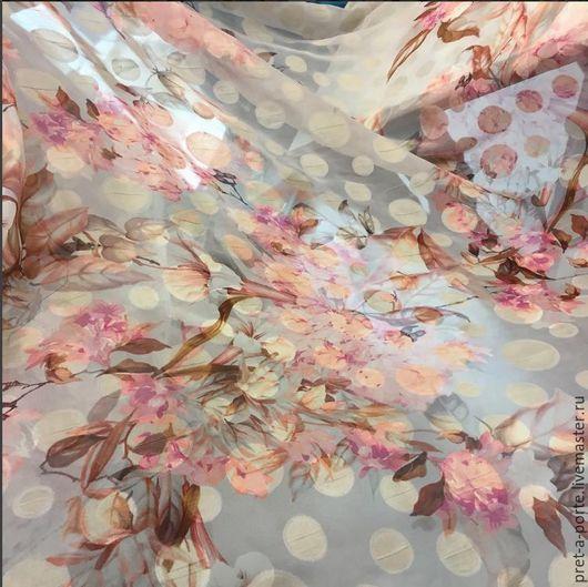Шитье ручной работы. Ярмарка Мастеров - ручная работа. Купить Alta moda шелк филь купэ , Италия. Handmade. Комбинированный