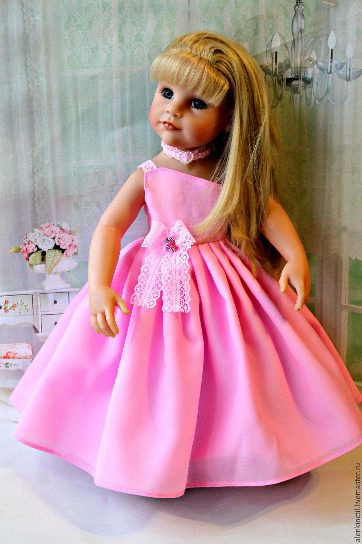 нарядные платья для кукол своими руками фото второй, она