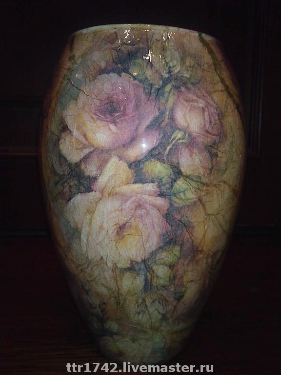 """Ваза """"Старинные розы"""""""