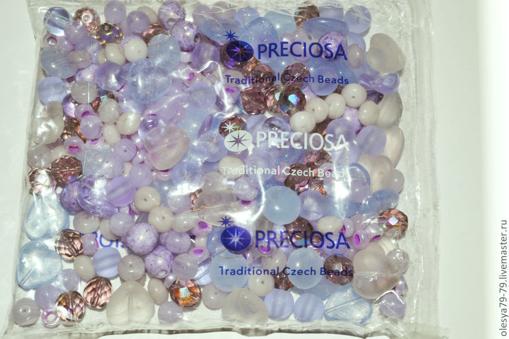 buy beads. the Czech beads. mix for decorations. Czech seed beads mix. Czech beads to buy. mix. mix beads. beads for jewelry mix 111 light lilac. OleSandra beads beads. Fair master