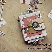 Открытки handmade. Livemaster - original item Folding album - postcard. Handmade.