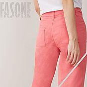Одежда handmade. Livemaster - original item Womens linen trousers