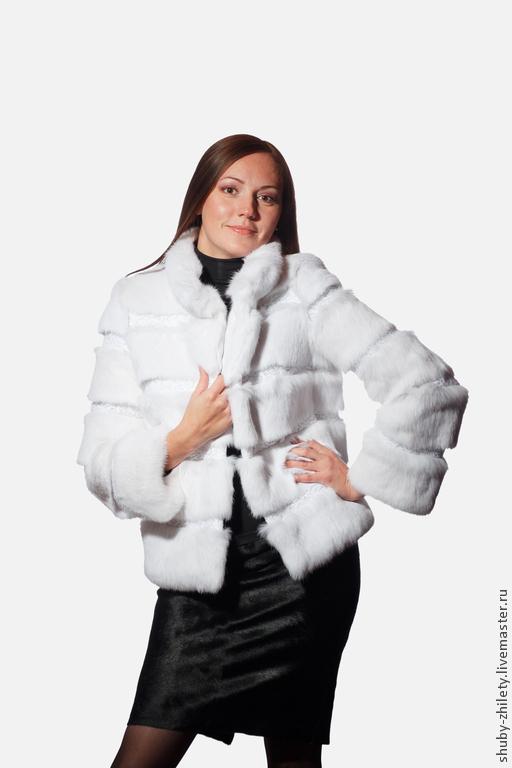 Coat white, Fur Coats, Nizhny Novgorod,  Фото №1