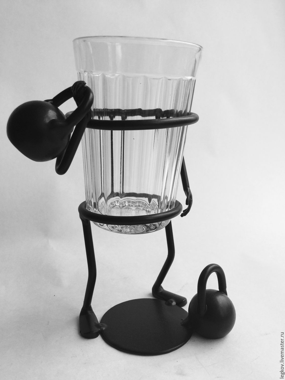 Holder 'Strongman!', Water Glasses, Kolchugino,  Фото №1
