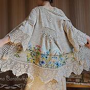 """Одежда ручной работы. Ярмарка Мастеров - ручная работа Кардиган вязаный """"Лето Зои"""". Handmade."""