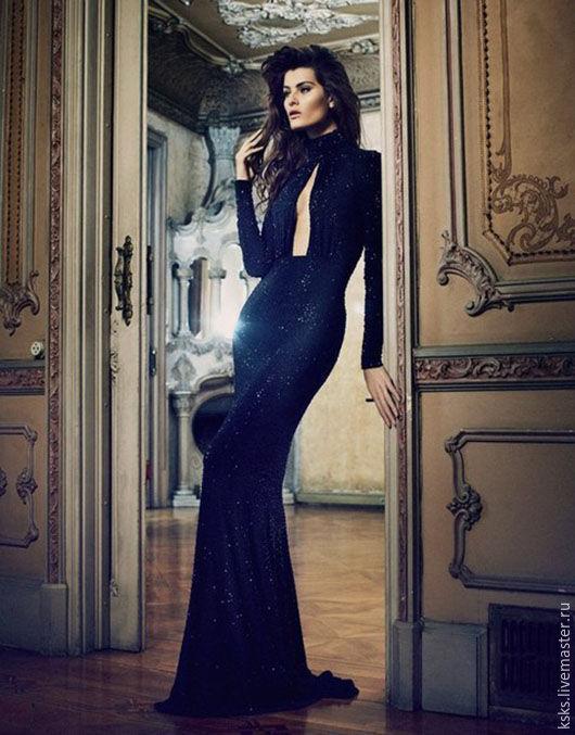 Платья ручной работы. Ярмарка Мастеров - ручная работа. Купить black Queen. Handmade. Черный, вечернее платье, Платье нарядное