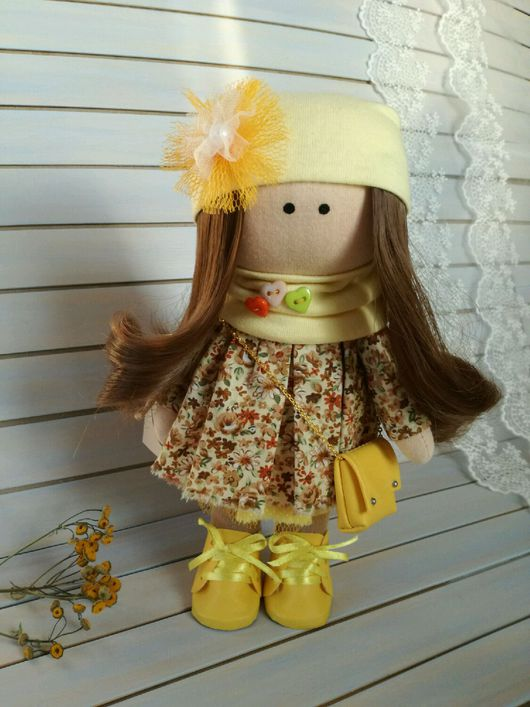 Коллекционные куклы ручной работы. Ярмарка Мастеров - ручная работа. Купить Кукла текстильная ручной работы. Интерьерная кукла.. Handmade.