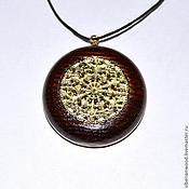 Украшения handmade. Livemaster - original item Wooden pendant Open pendant is made of natural wood (Ash). Handmade.