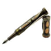 """Ручки ручной работы. Ярмарка Мастеров - ручная работа Стимпанк ручка """"Стальной гламур"""". Handmade."""