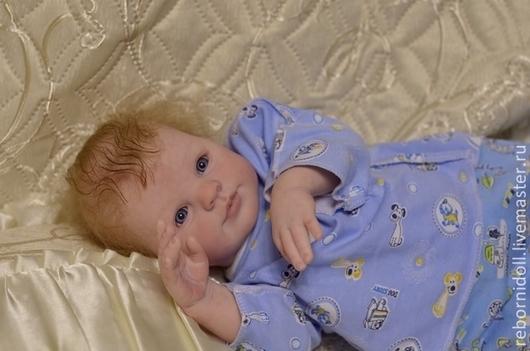 Куклы-младенцы и reborn ручной работы. Ярмарка Мастеров - ручная работа. Купить Кукла реборн Саша. Handmade. Кукла реборн