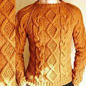 """Одежда ручной работы. Ярмарка Мастеров - ручная работа """"Добрый свитер""""из верблюжьей шерсти. Handmade."""
