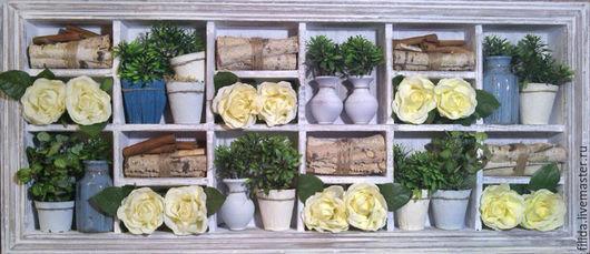 Панно Березовые розы