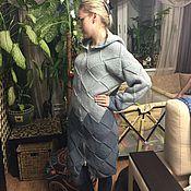 Одежда ручной работы. Ярмарка Мастеров - ручная работа вязанное женское пальто. Handmade.
