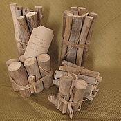 Материалы для творчества ручной работы. Ярмарка Мастеров - ручная работа Вязанки для эко-дизайна (из береговых палочек). Handmade.