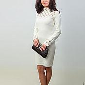 Одежда ручной работы. Ярмарка Мастеров - ручная работа Платье вязаное 4493. Handmade.