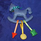 """Куклы и игрушки ручной работы. Ярмарка Мастеров - ручная работа Погремушка """"Лошадка"""". Handmade."""