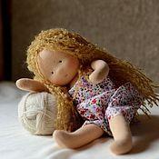 Мягкие игрушки ручной работы. Ярмарка Мастеров - ручная работа Негрустинка Малышка, 28см. Handmade.