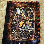Сумки и аксессуары handmade. Livemaster - original item Passport cover