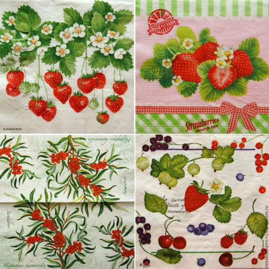 «Виктория» 352 «Strawberries» 347 «Облепиховая ветвь» 373 «Ягодки» 372