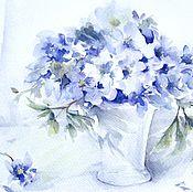Картины и панно handmade. Livemaster - original item Watercolour pattern