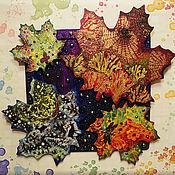 """Картины и панно ручной работы. Ярмарка Мастеров - ручная работа Декоративное панно """"Времена года"""". Handmade."""