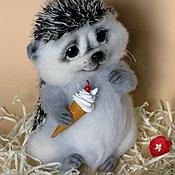 """Куклы и игрушки ручной работы. Ярмарка Мастеров - ручная работа Ёжик """"Пуш"""". Handmade."""