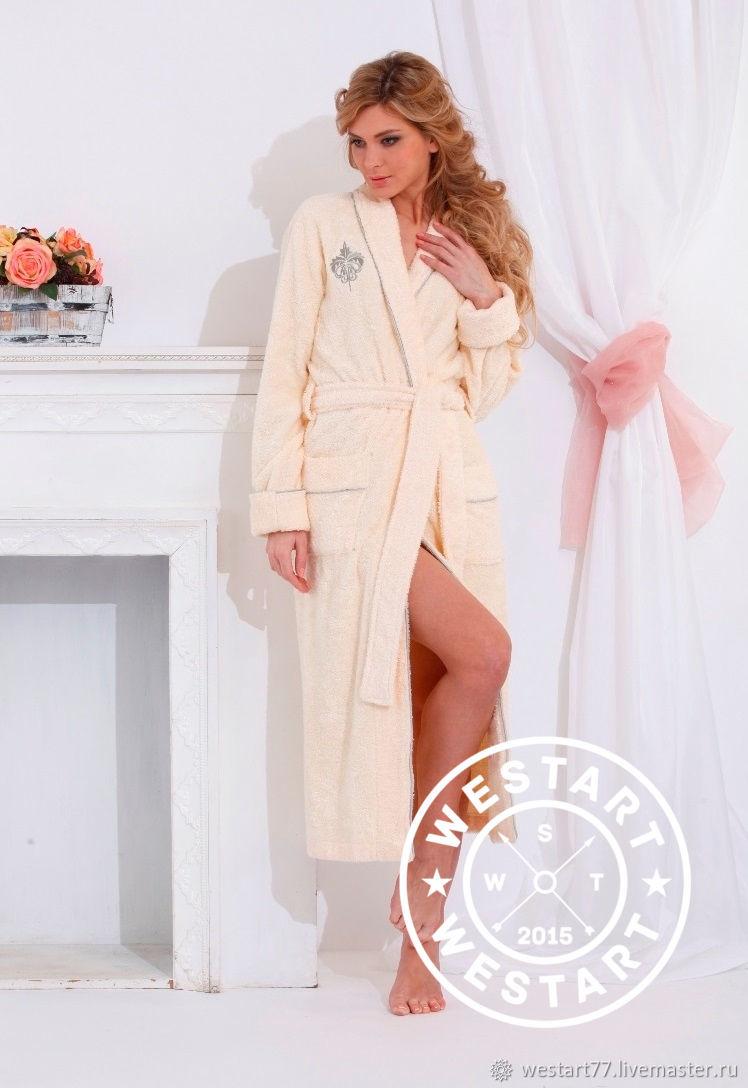 e3d073c346ed Заказать Бамбуковый женский халат. Westart. Ярмарка Мастеров. Подарок  подруге ...