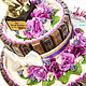 Кулинарные сувениры ручной работы. На день матери Подарок маме на день рождения Торт из шоколада. Ника Окунева 'ZEFIRKI'. Ярмарка Мастеров.