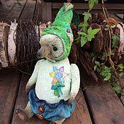 Куклы и игрушки ручной работы. Ярмарка Мастеров - ручная работа Тедди мишка Грушевый эльф. Handmade.