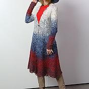 Одежда ручной работы. Ярмарка Мастеров - ручная работа Кардиган Триколор. Handmade.