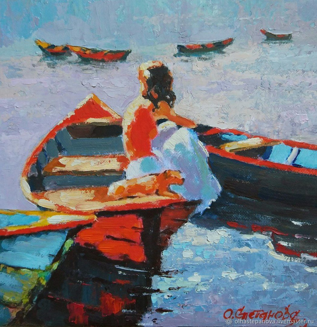 Oil painting 'a Girl can dream', Pictures, Sevastopol,  Фото №1