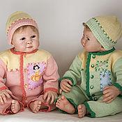 Работы для детей, ручной работы. Ярмарка Мастеров - ручная работа Комбинезон вязаный с шапочкой Принцесса и К-о. Handmade.