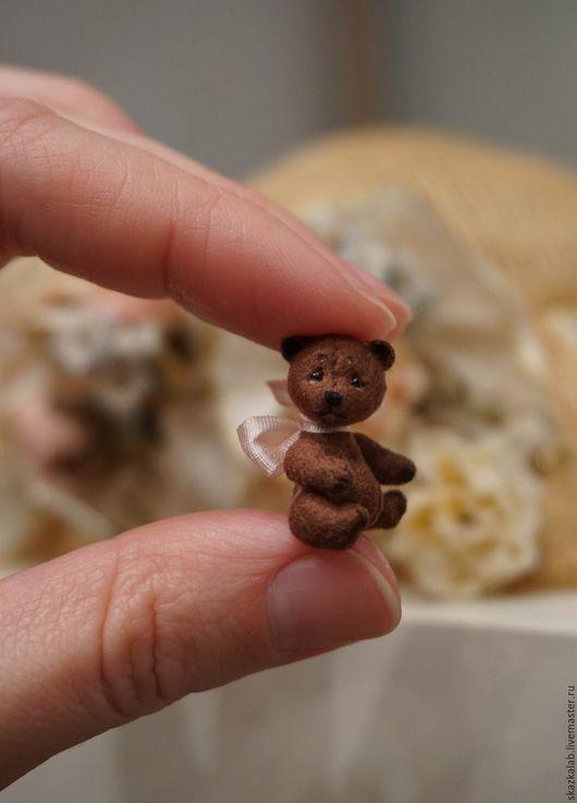 Мишки Тедди ручной работы. Ярмарка Мастеров - ручная работа. Купить Кроха. Handmade. Коричневый, авторский, мини мишки