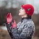 Шляпы ручной работы. Шляпка № 12 Красный Клош. AneleStudio. Ярмарка Мастеров. Клош, английская шляпка, женственность