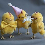Куклы и игрушки ручной работы. Ярмарка Мастеров - ручная работа Пик,Пак,Пок или весёлые цыплята. Handmade.