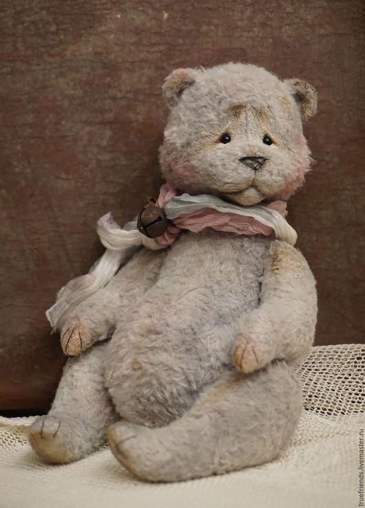 Мишки Тедди ручной работы. Ярмарка Мастеров - ручная работа. Купить Haze. Handmade. Серый, тедди, стеклянные глазки