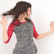 """Одежда ручной работы. Ярмарка Мастеров - ручная работа Платье валяное """"Кармен"""". Handmade."""