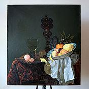 Картины и панно handmade. Livemaster - original item Dutch still life. Handmade.