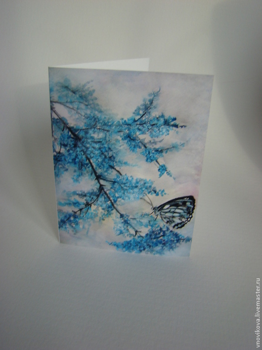 """Открытки на все случаи жизни ручной работы. Ярмарка Мастеров - ручная работа. Купить Поздравительная открытка """" Бабочка """". Handmade."""