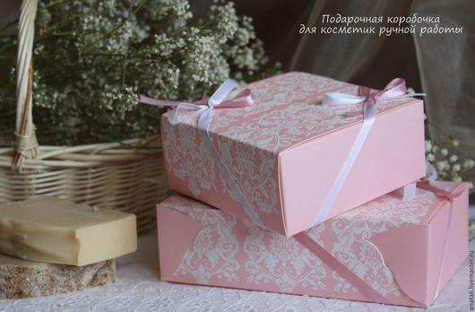 Вариант №1 Подарочная коробочка из дизайнерского картона. Размер: 17,1 * 11,4 см * 5см. Стоимость 90руб Размер: 11,4 см * 11.5CM * 5см Стоимость 60руб